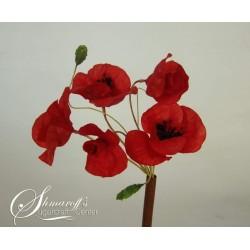 Курс моделиране на цветя с вафлена хартия