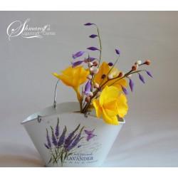 Курс направа на цветя от захарно тесто Пролет
