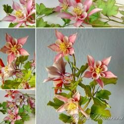 Курс направа на цветя от захарно тесто Кандилки