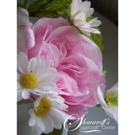 Курс моделиране на цветя с вафлена хартия  в Синиморец
