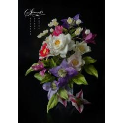 """Курс за направа на цветя от вафлена хартия прект """"Dream"""""""