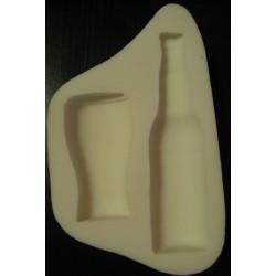 Комплект - чаша и бутилка