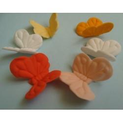Метална формичка със силиконова преса пеперуда