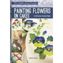 Рисуване на цветя върху торти