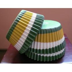 Хартиени формички за мъфинс - Зелени