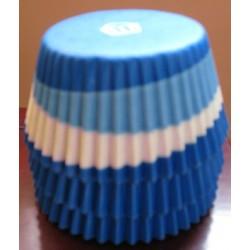 Хартиени формички за мъфинс - Сини