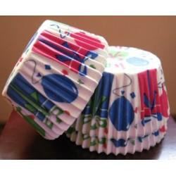 Хартиени формички за мъфинс - Честит рожден ден