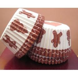 Хартиени формички за мъфинс - Джинджифилови сладки
