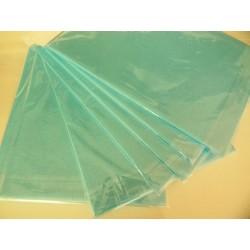 Вафлена хартия синя