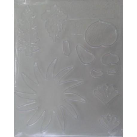 Лист асорти - ароматен грах, хризантема, папрат