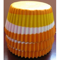 Хартиени формички за мъфинс - Оранж