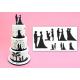 Комплект сватбени силуети